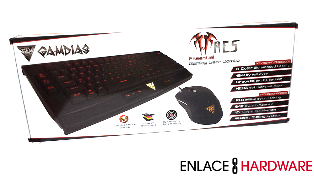 GAMDIAS Ares Essential Gaming Gear