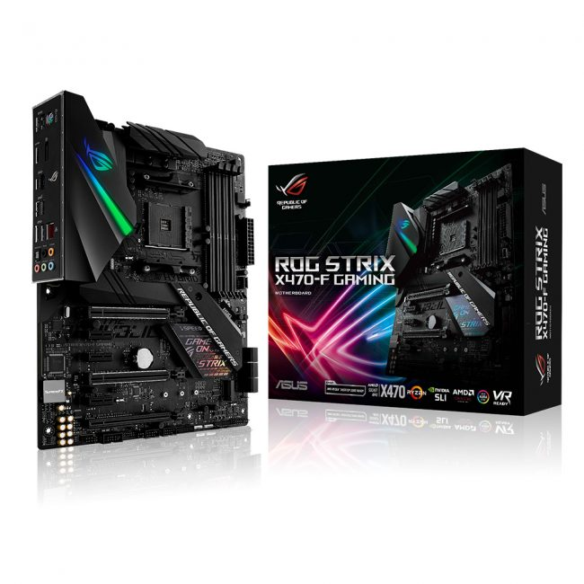 AMD X470 ROG-STRIX-X470-F-GAMING