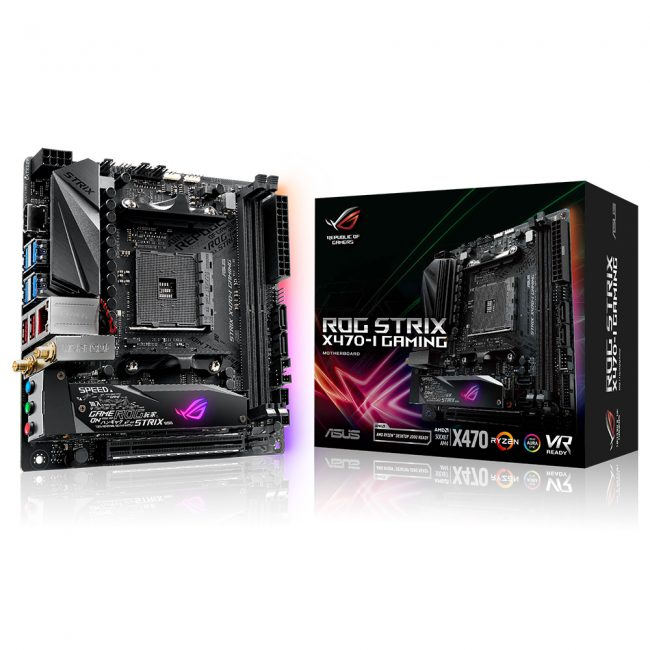 AMD X470 ROG-STRIX-X470-I-GAMING