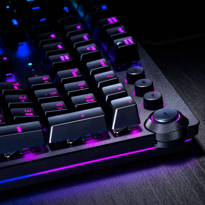 Control Multimeda Teclado Razer Huntsman Elite