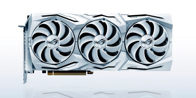 Asus revela ROG Strix GeForce RTX 2080 SUPER White Edition